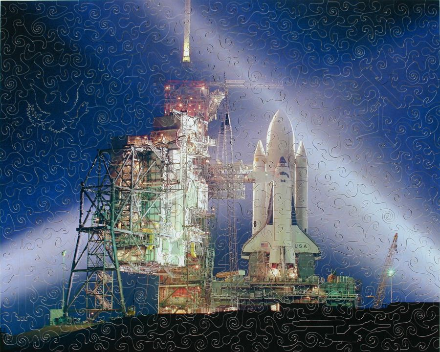 space shuttle columbia puzzle - photo #13